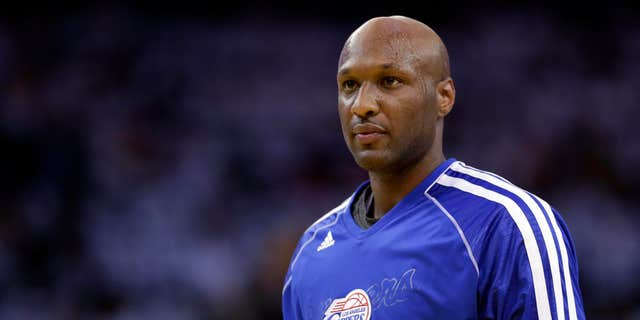 FILE - This Jan. 2, 2013, file photo shows Los Angeles Clippers' Lamar Odom during an NBA basketball game against the Golden State Warriors in Oakland, Calif.