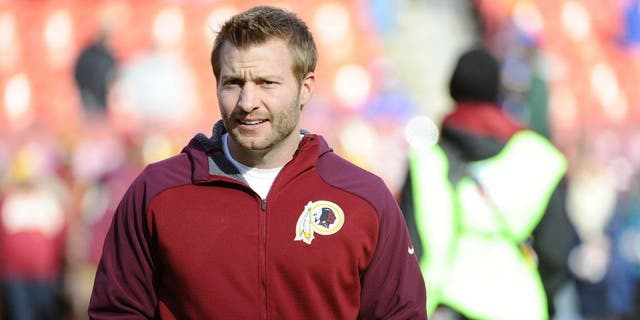 Sean McVay was an assistant with Washington before he took the Rams job.