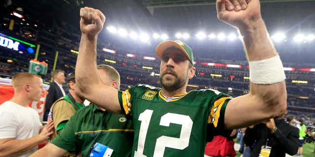 Rodgers took issue with the way Andrew Luck's retirement was handled.