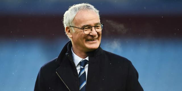 BIRMINGHAM, ENGLAND - JANUARY 16: Claudio Ranieri Manager of Leicester City looks on prior to the Barclays Premier League match between Aston Villa and Leicester City at Villa Park on January 16, 2016 in Birmingham, England. (Photo by Laurence Griffiths/Getty Images)