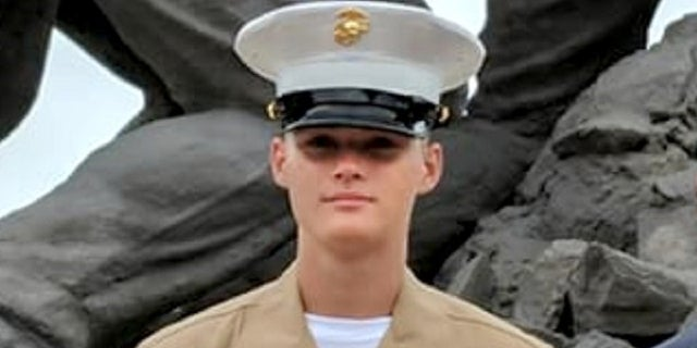 Marine Pfc. Ethan Andrew Barclay-Weberpal, 18, was fatally stabbed by another Marine on Jan. 16, 2018.