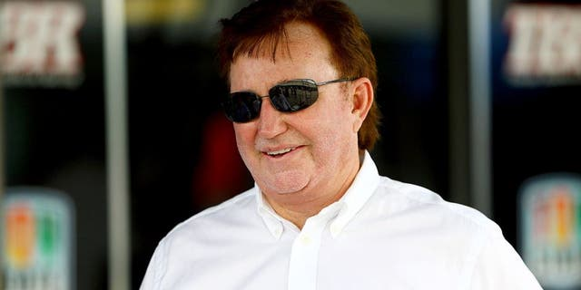 Nov 21, 2015; Homestead, FL, USA; NASCAR Sprint Cup Series team owner Richard Childress during practice for the Ford Ecoboost 400 at Homestead-Miami Speedway. Mandatory Credit: Mark J. Rebilas-USA TODAY Sports