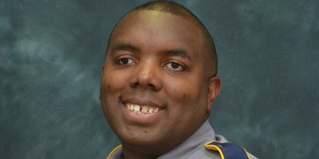 Baton Rouge Police Corporal Montrell Jackson, who was shot and killed by Gavin Long along with two other officers on July 17.