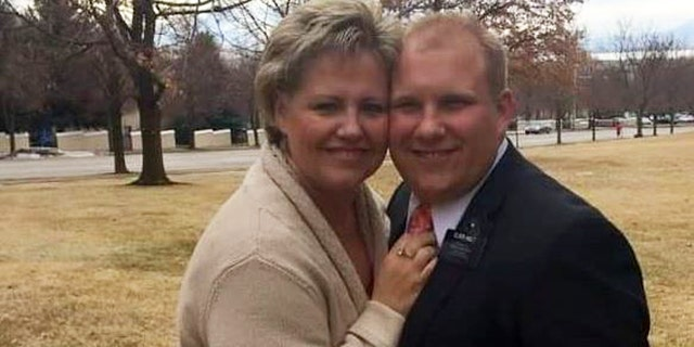 Laurie Holt with her son, Joshua. (Photo courtesy of Laurie Holt)