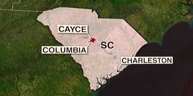 The Amtrak train collided with a CSX freight train in Cayce, located just outside Columbia.