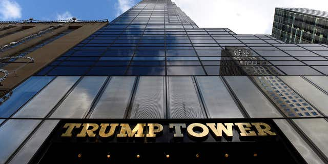Republican president-elect Donald Trump's Trump Tower is seen in the Manhattan borough of New York