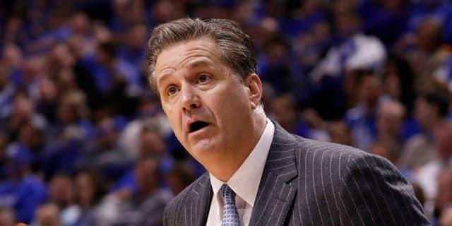 Kentucky basketball coach John Calipari