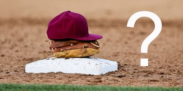 Jun 1, 2013; Tallahassee, FL, USA; A Florida State hat and glove sit on top of third base during the Tallahassee regional of the 2013 NCAA baseball tournament at Dick Howser Stadium. Mandatory Credit: Rob Foldy-USA TODAY Sports