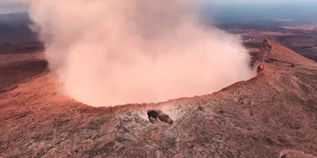 The Kilauea volcano first erupted on May 3, 2018.