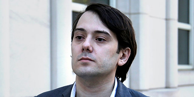 Former Turing Pharmaceuticals CEO Martin Shkreli arrives to federal court in New York, Monday, June 26, 2017.