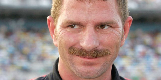DAYTONA BEACH, FL - JULY 03: Kerry Earnhardt, driver of the #31 LibertyPort.com Chevrolet, stands on the grid prior to the start of the NASCAR Nationwide Series Subway Jalapeno 250 at Daytona International Speedway on July 3, 2009 in Daytona Beach, Florida. (Photo by Jerry Markland/Getty Images for NASCAR) *** Local Caption *** Kerry Earnhardt