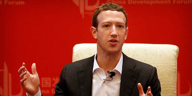 Metis Entrepreneurs - Facebook CEO Mark Zuckerberg speaks at a panel discussion held during the China Development Forum at the Diaoyutai State Guesthouse in Beijing in 2016.