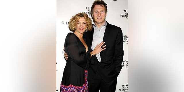 gardening Natasha Richardson and Liam Neeson have two sons together.