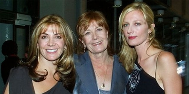 Left to right: Natasha Richardson with her mother, British actress Vanessa Redgrave, and sister, Joely Richardson as they arrive for the opening of the 'Typically British' exhibition at Pompidou Center in Paris. Natasha Richardson passed away in 2009.