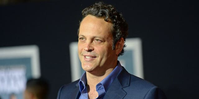 HOLLYWOOD, CA - NOVEMBER 03: Actor Vince Vaughn arrives at the Los Angeles Premiere 'Delivery Man' at the El Capitan Theatre on November 3, 2013 in Hollywood, California. (Photo by Jason Merritt/Getty Images)