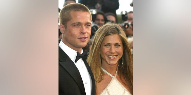 Westlake Legal Group 0323091827_M_Brad_and_Jen_450 Jennifer Aniston's dating history: The high-profile celebrities the star has been romantically linked to Tyler McCarthy fox-news/person/vince-vaughn fox-news/person/jennifer-aniston fox-news/person/brad-pitt fox-news/entertainment/friends fox-news/entertainment/events/couples fox-news/entertainment/celebrity-news fox-news/entertainment fox news fnc/entertainment fnc article 851b3ea5-85b2-5adc-acff-f6d88515aad1