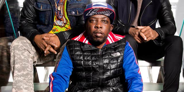 FILE - In this Nov. 12, 2015 file photo, Malik Isaac Taylor aka Phife Dawg of A Tribe Called Quest poses for a portrait at Sirius XM studios in New York.