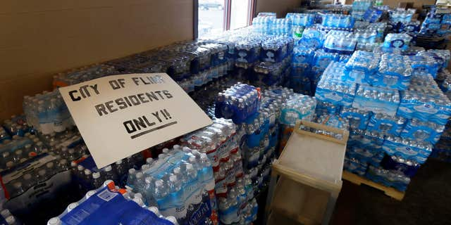 Flint is no longer getting its water from the river. But the water it is getting, although deemed safe at the source, still has to pass through corroded lead or galvanized pipes in many people's home that can make the water toxic.