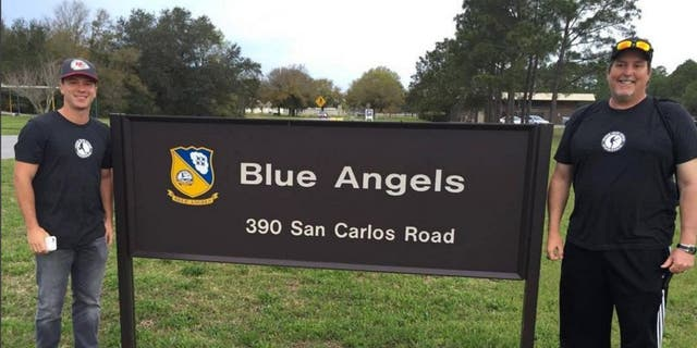 Cairo Santos spent a day with the U.S. Navy's Blue Angels pilots.