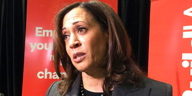 Sen. Kamala Harris, D-Calif., has been one of a number of potential 2020 candidates who has been quiet on Iran.