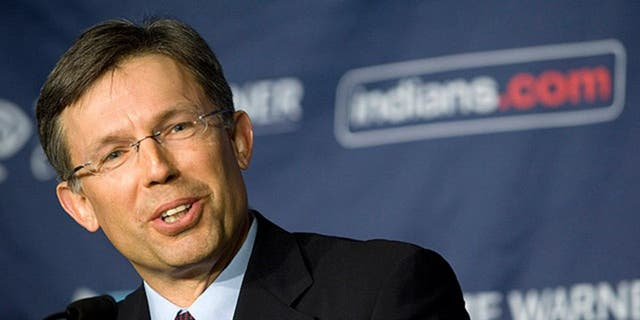 Paul Dolan is the Indians' chairman and CEO and son of team owner Lawrence J. Dolan. (Jason Miller/AP).