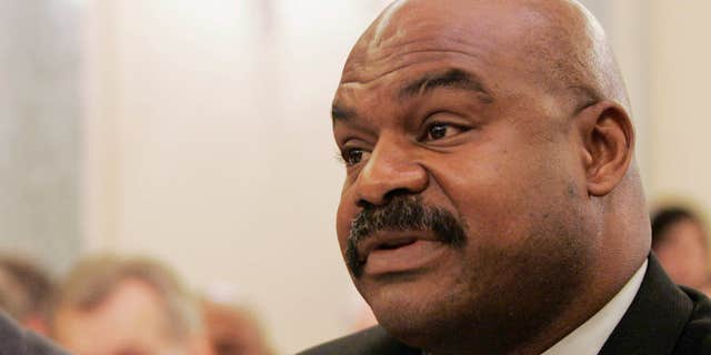 Sept. 18, 2007: Former Chicago Bears safety Dave Duerson, a trustee for the Burt Bell/Pete Rozell NFL Player Retirement Plan, testifies on Capitol Hill in Washington.