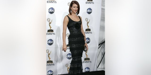 But when Walsh appears on the red carpet, there's not a hair out of place and the star wows in a glam gown.