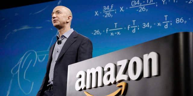 Amazon founder Jeff Bezos is the world's richest man