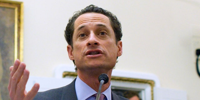 Jan. 6: Rep. Anthony Weiner, D-N.Y., testifies before the House Rules Committee on Capitol Hill in Washington.