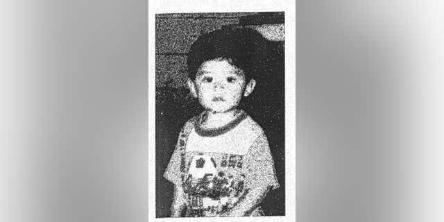 In this undated photo released by the San Bernardino County District Attorney's Office shows a family photo of Steve Hernandez, pictured in the only photograph Maria Mancia had of her kidnapped son for the last 20 years.