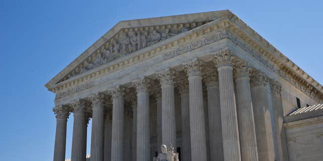 The Supreme Court is seen in Washington, Monday, June 20, 2016, as the court announced several decisions.