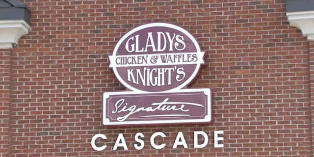 Gladys Knight's Chicken and Waffles restaurant in Georgia.