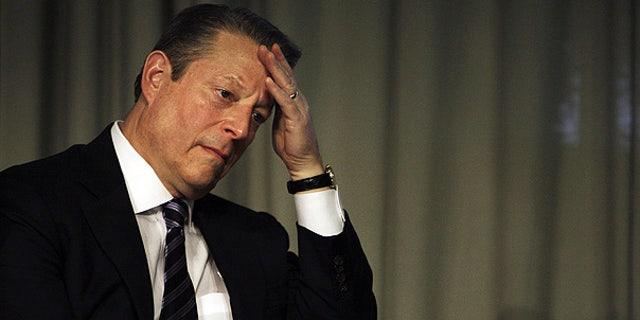 Former Vice President Al Gore at the UN Climate summit in Copenhagen, Denmark.