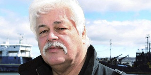 FILE: Captain Paul Watson, head of the Sea Shepherd Conservation Society, is now wanted by Interpol for disrupting Japanese whale hunts in the Arctic Ocean, Japan's coast guard said.