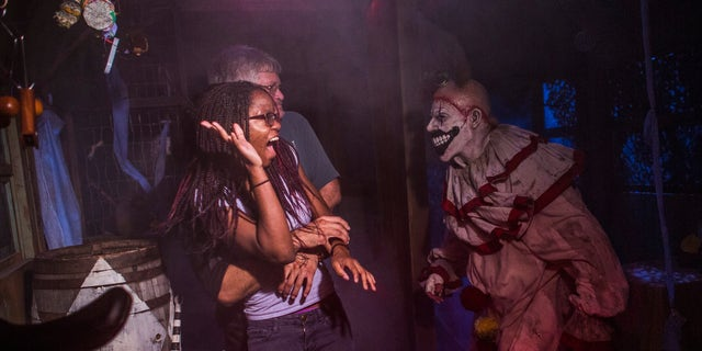 American Horror Story FX Haunted House