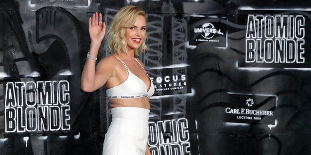 Charlize Theron is this year's honorary starter for the Daytona 500.