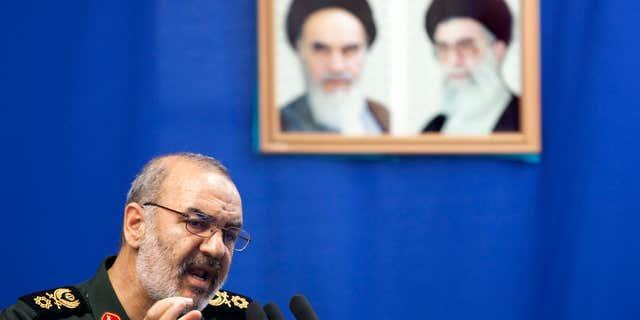 July 16, 2010: Hossein Salami, deputy head of Iran's Revolutionary Guard.