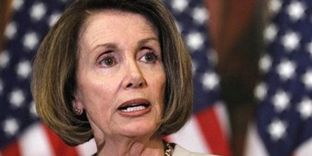 May 26: House Speaker Nancy Pelosi speaks on Capitol Hill in Washington.
