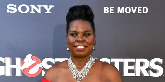 "FILE - In this July 9, 2016 file photo, Leslie Jones arrives at the Los Angeles premiere of ""Ghostbusters."""