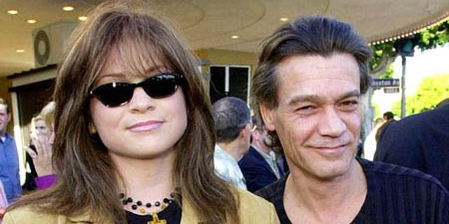 """Van Halen's ex-wife,actress Valerie Bertinelli, shared their son's message on her own account along with breaking heart emojis.The pair was married for 20 years and officially divorced in 2007.<br data-cke-eol=""""1"""">"""