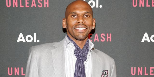 NEW YORK, NY - APRIL 28: Professional basketball player Jerry Stackhouse attends the AOL 2015 Newfront on April 28, 2015 in New York City. (Photo by Brian Ach/Getty Images for AOL)