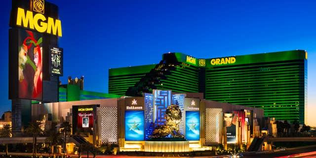 MGM Grand exterior hero shot