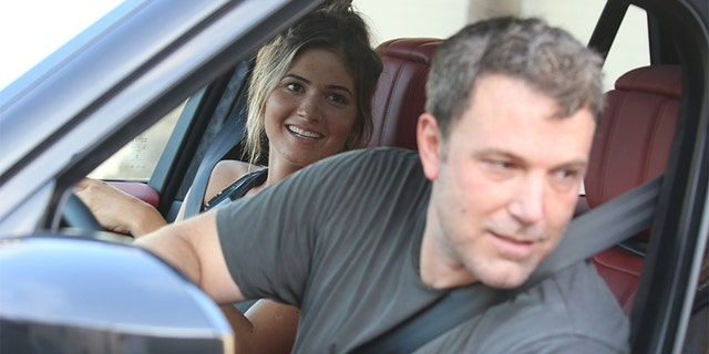Ben Affleck was seen grabbing fast food with Playboy model Shauna Sexton.