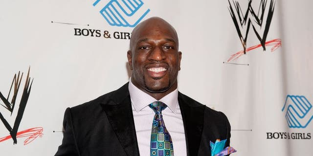 Titus O'Neil attends WWE's 2014 SuperStars For Kids at the New Orleans Museum of Art on April 3, 2014 in New Orleans City.