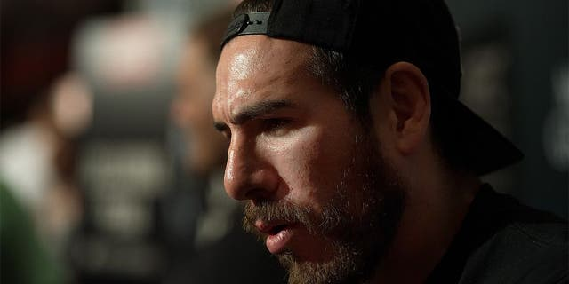 LAS VEGAS, NEVADA - JULY 9: Kenny Florian speaks to the media during the UFC International Fight Week Ultimate Media Day at MGM Grand Hotel & Casino on July 9, 2015 in Las Vegas Nevada. (Photo by Brandon Magnus/Zuffa LLC/Zuffa LLC via Getty Images)