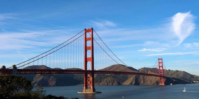 Dec 7, 2012; San Francisco, CA, USA; A general view of the Golden Gate Bridge. Mandatory Credit: Jake Roth-USA TODAY Sports