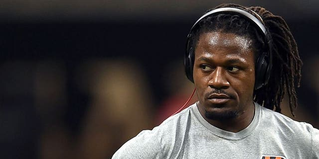 NEW ORLEANS, LA - NOVEMBER 16: Adam Jones #24 of the Cincinnati Bengals participates in warmups prior to a game against the New Orleans Saints at the Mercedes-Benz Superdome on November 16, 2014 in New Orleans, Louisiana. Cincinnati defeated New Orleans 27-10. (Photo by Stacy Revere/Getty Images)