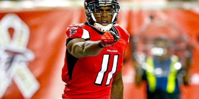 Falcons wide receiver Julio Jones (Photo by Kevin C. Cox/Getty Images)