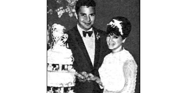 Connie Francis with husband number one.