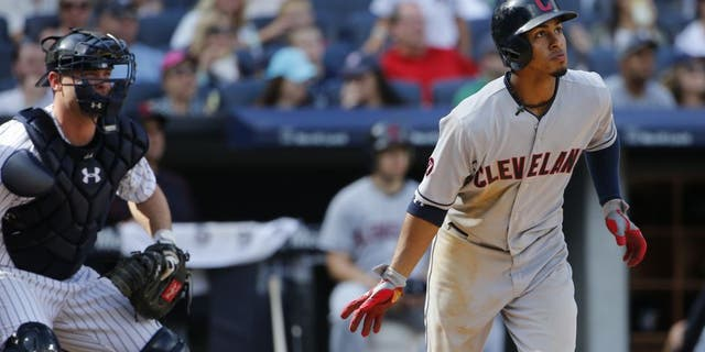 Francisco Lindor hits go-ahead HR to help the Indians beat the Yankees on Sunday